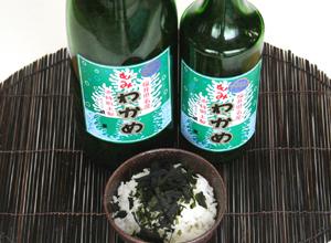 【残り1本】福井海産もみわかめ(粉わかめ)・一升瓶入