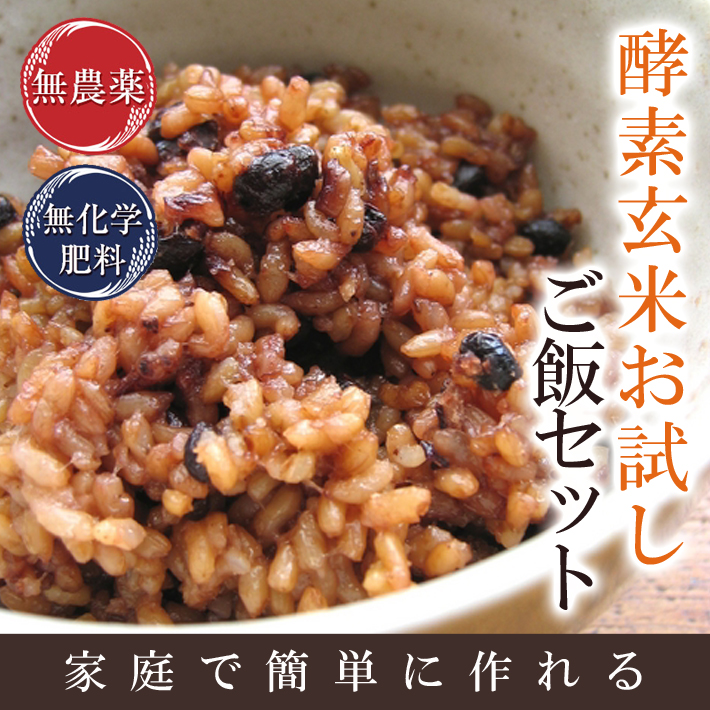 酵素玄米お試しご飯セット