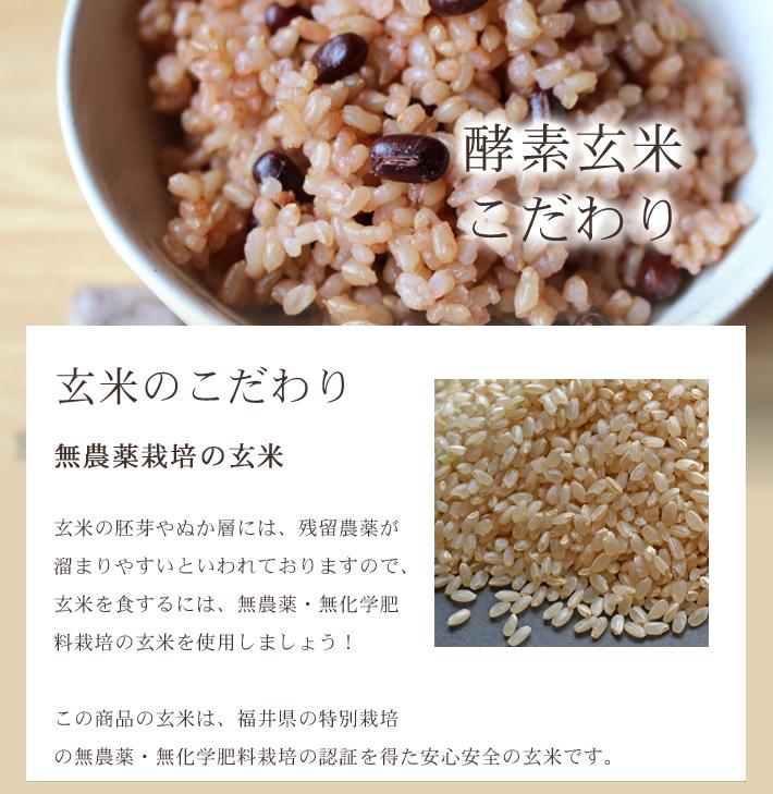 酵素玄米(寝かせ玄米) 無農薬5