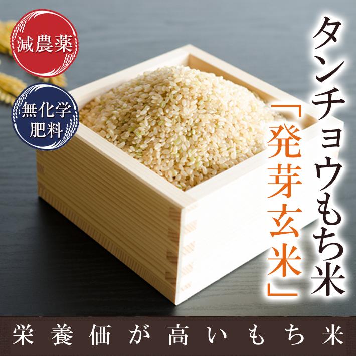 発芽玄米タンチョウもち米