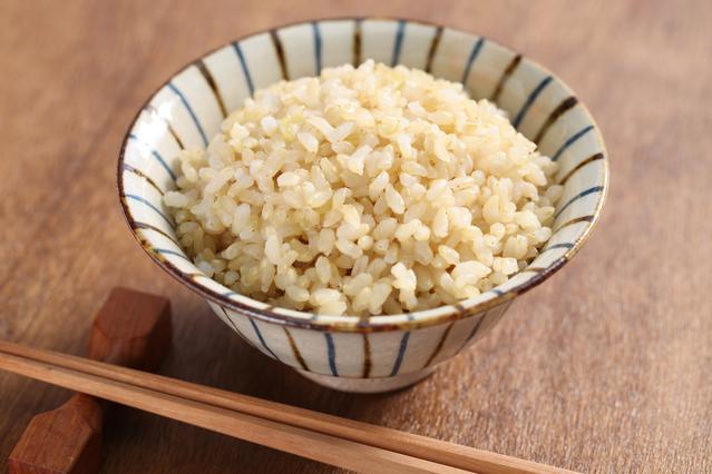 発芽玄米ご飯の写真