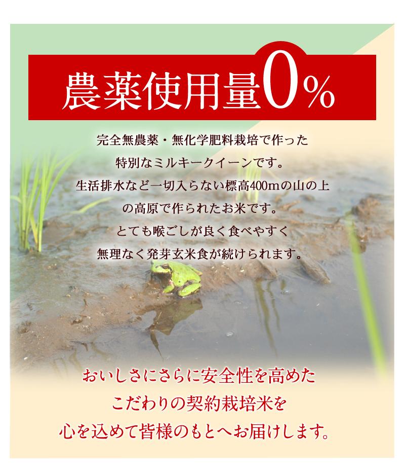 農薬使用量0%