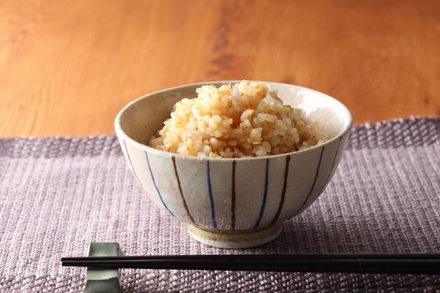 発芽玄米のご飯の画像