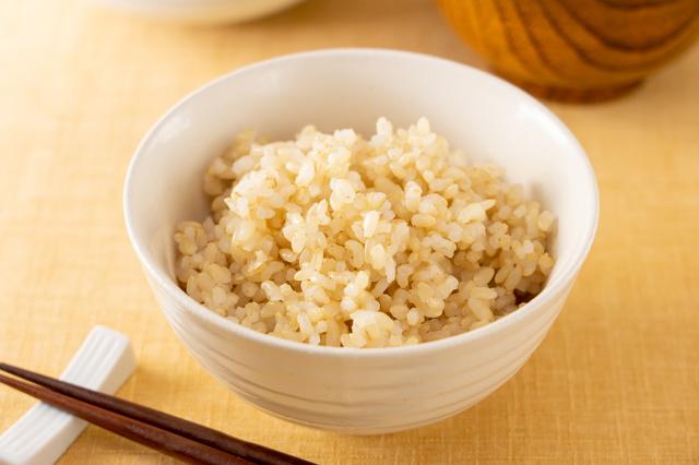玄米ごはんの写真